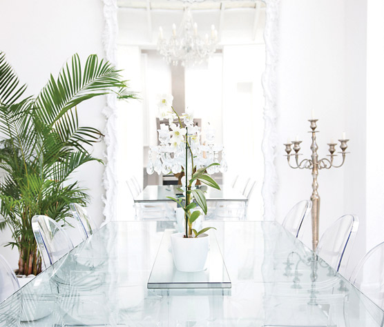 Low Iron Clear Glass Tables